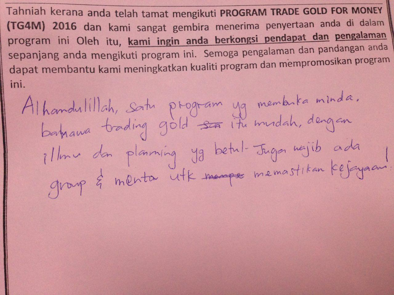 irsofian akademijl feedback gold trading 4