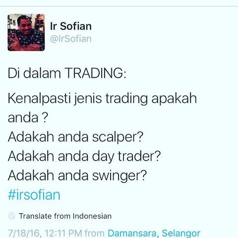ir sofian quote trading siapa anda